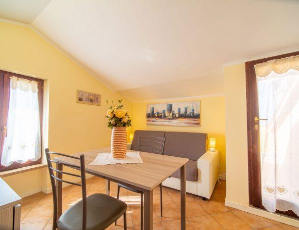 divano letto appartamento Terrazza Santa Chiara, Assisi