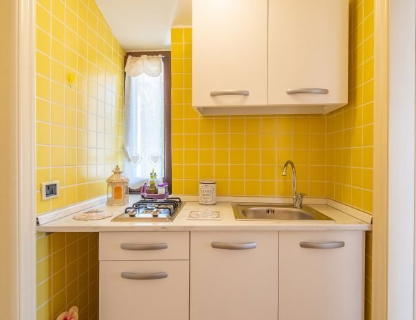 Cucina appartamento Terrazza Santa Chiara, Assisi